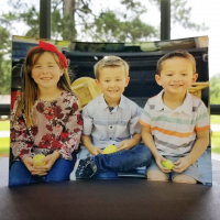 Curved Acrylic Photo Panel
